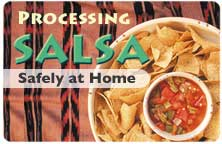 Processing Salsa Safely at Home